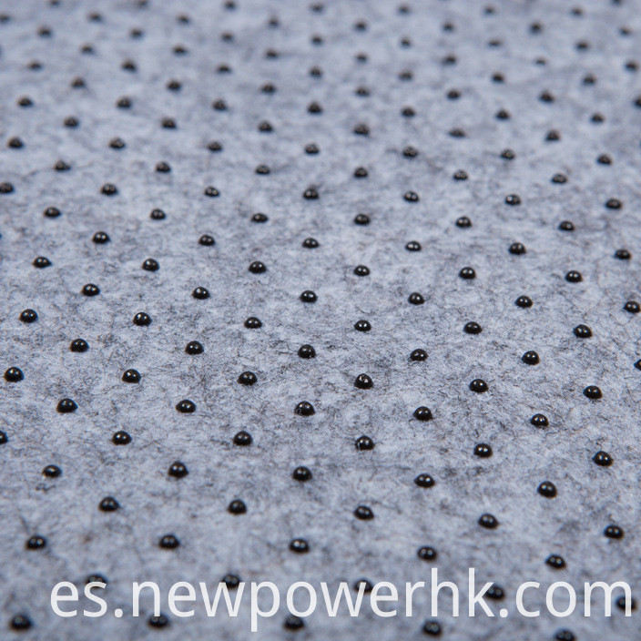 0.1MM Grey Color plastic-dotted tape for seamless pocket